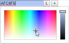 Theme color picker