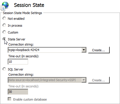 Setting up a State Server – Exago Support Center