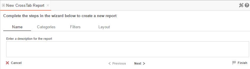 crosstab reports exago support center
